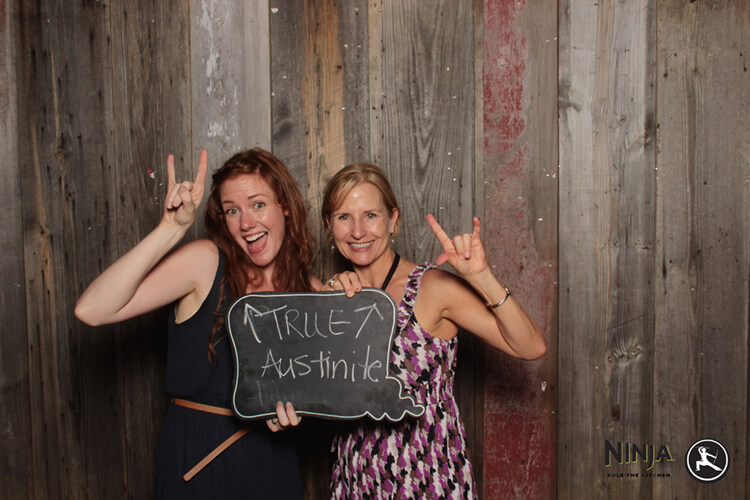 Austin Photo Booth at Stubbs BlogHer Food '13