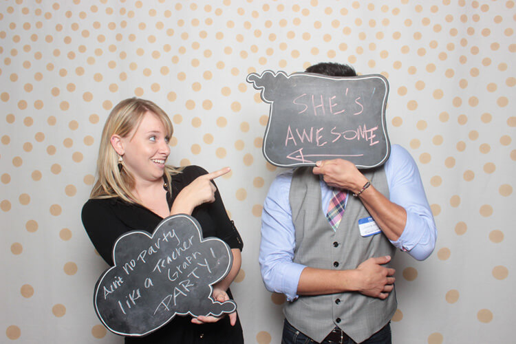 Austin Photo Booth at the Delta Program