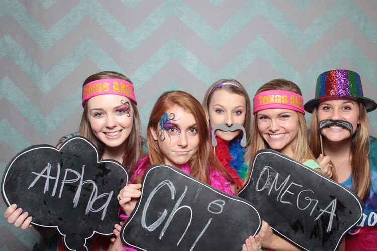 Austin Photo Booth for Alpha Chi Omega - 01