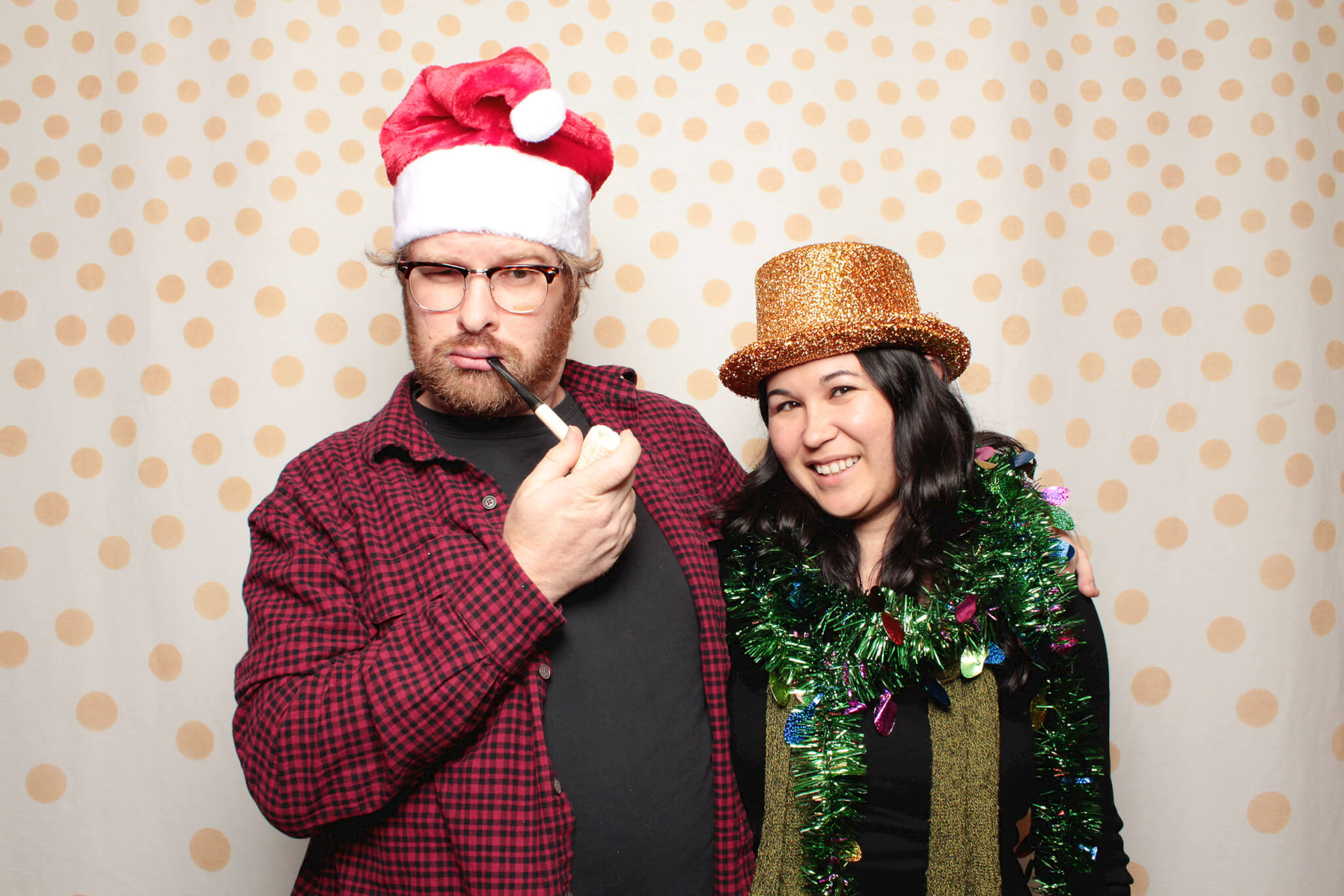 AUSTIN PHOTO BOOTH FOR W2O Group 2013 Austin Holiday Party